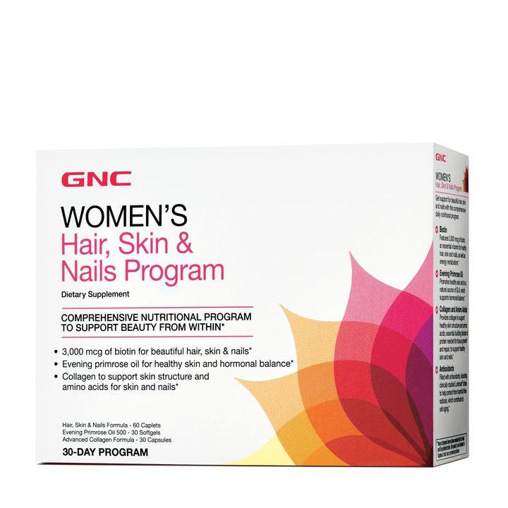 GNC Women's Hair Skin Nails Formula Program За коса, кожа и нокти х60+30+30 капсули