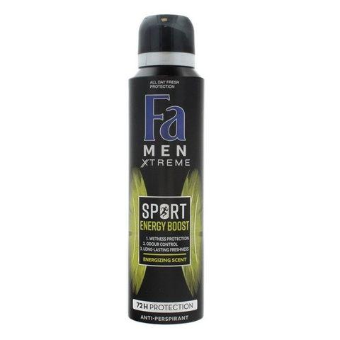Fa Men Sport Energy Boost Део спрей против изпотяване за мъже х150 мл