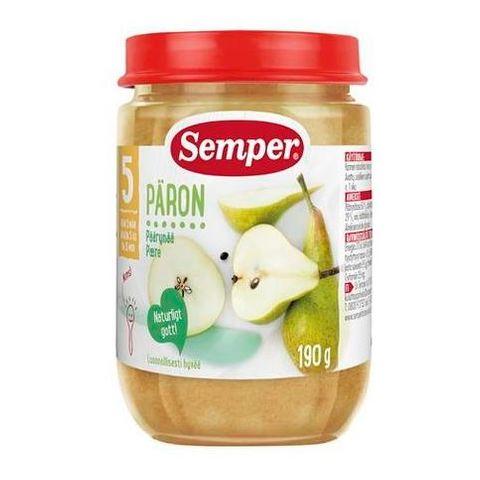 Semper Пюре круши то 5 месечна възраст x190 гр - 9512