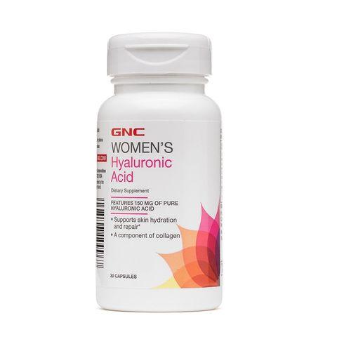 GNC Women's Hyaluronic Acid Грижа за кожата и ставите 150мг х30 капсули