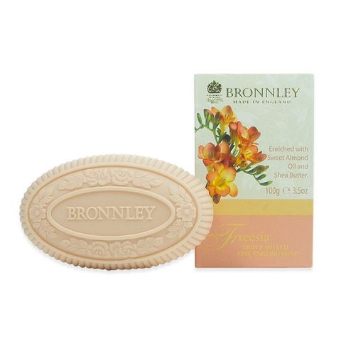 Bronnley Freеsia Луксозен сапун с аромат на фрезия x100 грама