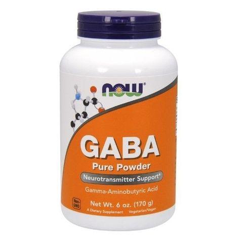 Now Foods ГАБА при проблеми със съня х170 грама
