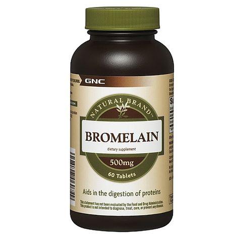 GNC Бромелаин 500мг х60 таблетки