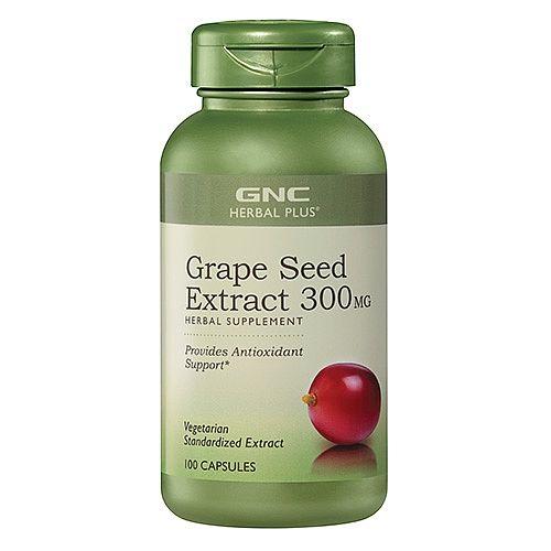 GNC Grape Seed Екстракт от Гроздови Семки 300мг х100 капсули