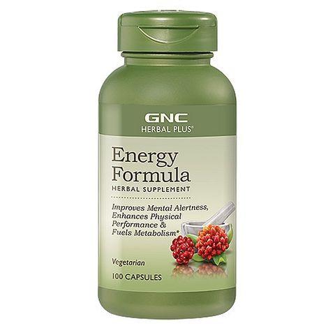 GNC Energy Formula за енергия и тонус х100 капсули
