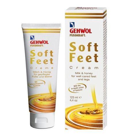 Gehwol Soft Feet Ежедневен крем за крака за гладка кожа с хиалуронова киселина х125 мл