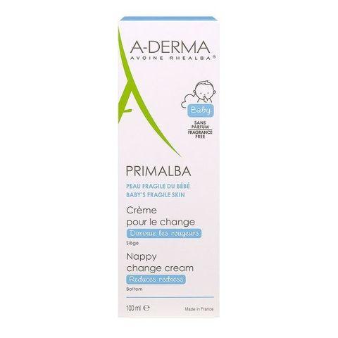 A-Derma Primalba Крем при смяна на памперси х100 мл