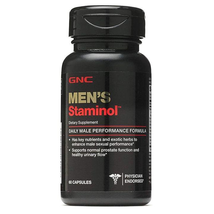 GNC Staminol Сексуален стимулант за мъже х60 таблетки