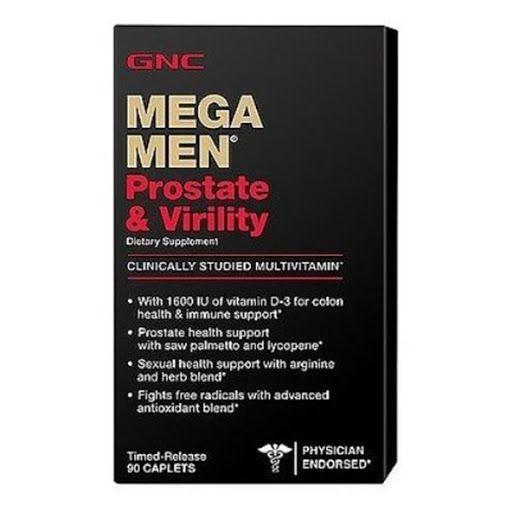 GNC Mega Men За простата х90 каплети