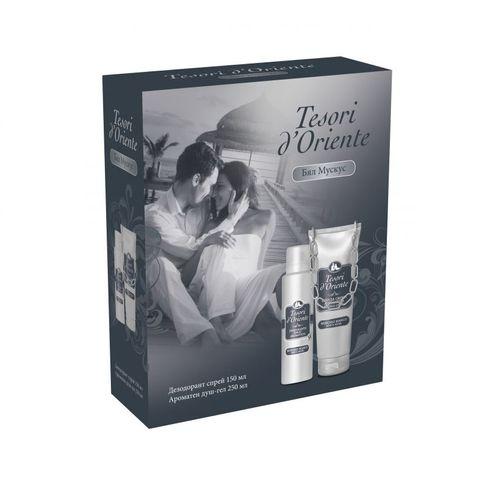 Tesori d' Oriente Промо комплект Бял мускус Дезодорант спрей и Ароматен душ-гел