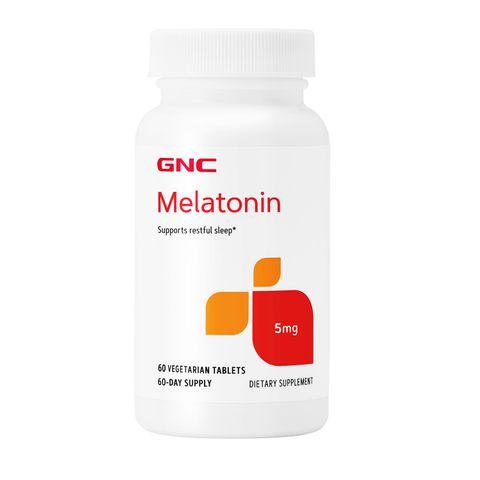 GNC Мелатонин при безсъние 5мг х60 вегетариански таблетки