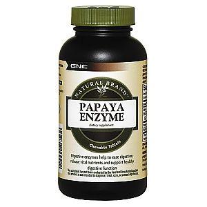 GNC Папая Ензими за храносмилане х240 дъвчащи таблетки