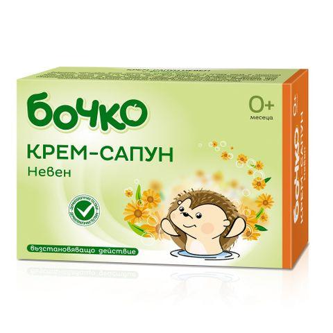 Бочко Бебешки крем-сапун с невен х75 грама