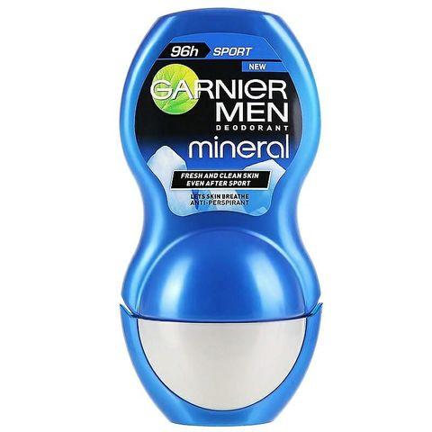 Garnier Mineral Men Sport Рол-он дезодорант против изпотяване за мъже x50 мл