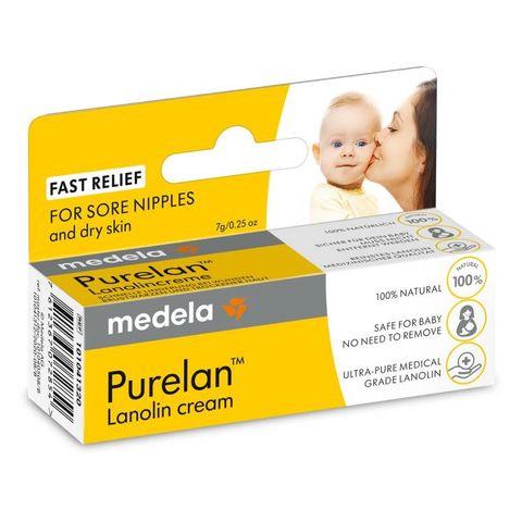 Medela Purelan Крем за сухи и чувствителни зърна х7 грама
