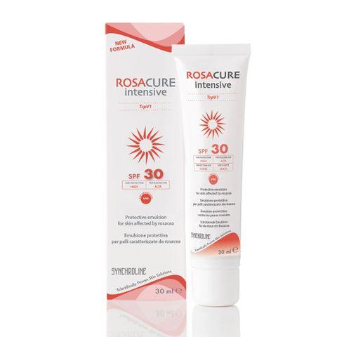Synchroline Rosacure Интензивен крем за лице при кожа с розацея SPF 30 x30 мл