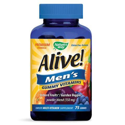 Alive Мултивитамини за мъже х75 желирани таблетки Nature's Way