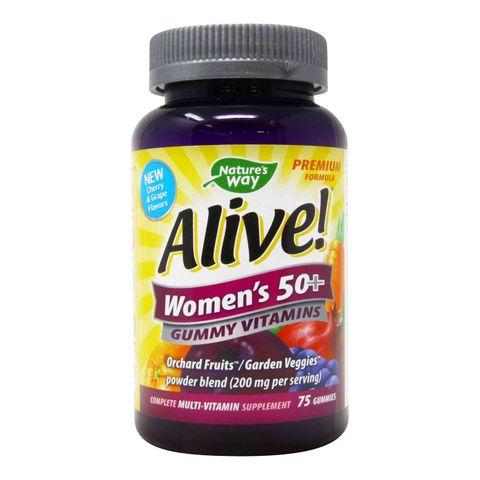 Алайв Мултивитамини за жени над 50 години х75 желирани таблетки Nature's Way