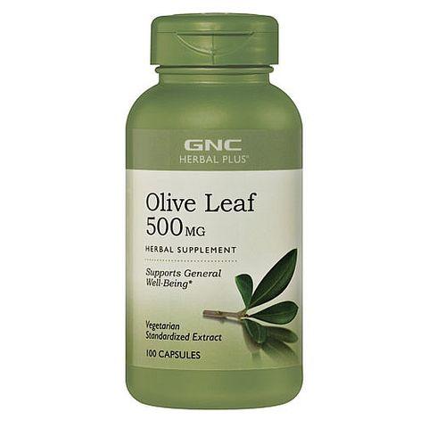 GNC Olive Leaf Extract Екстракт от маслинови листа 500мг х100 капсули