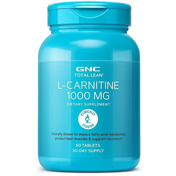 GNC Total Lean L-Карнитин 1000мг х60 таблетки