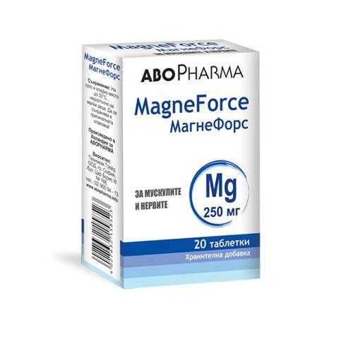 Магнефорс Магнезий 250мг х20 таблетки Abopharma