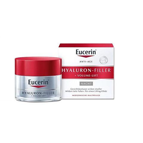 Eucerin Hyaluron-Filler + Volume-Lift Нощен крем за лице x50 мл