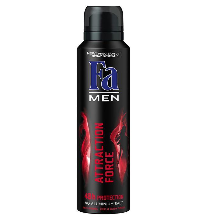 Fa Men Attraction Force Део спрей против изпотяване за мъже х150 мл