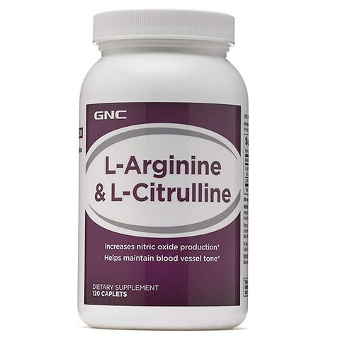 GNC Л-Аргинин и Л-Цитрулин х120 каплети
