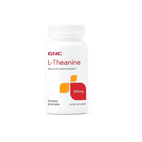 GNC Л-Теанин при стрес 200мг х60 капсули