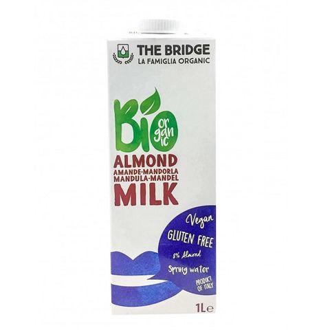 The Bridge Био напитка с бадеми 8% без глутен х1000 мл