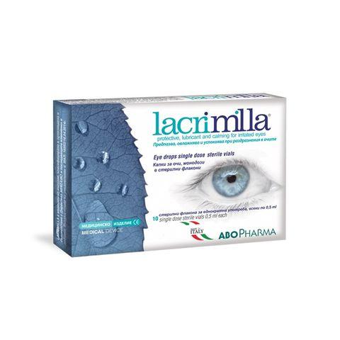Лакримила капки за очи 5мл х10 монодози Abopharma