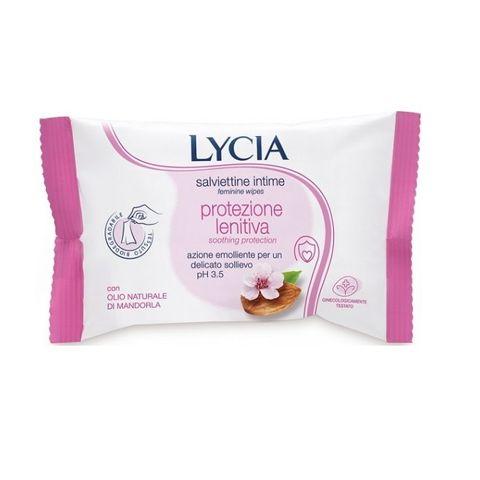 Lycia Успокояващи интимни мокри кърпички за чувствителна кожа х12 броя