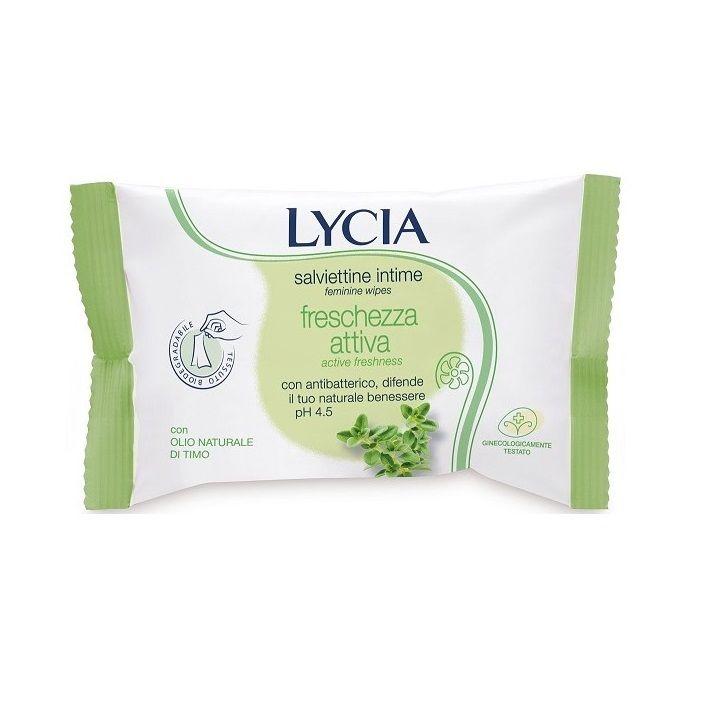 Lycia Антибактериални интимни мокри кърпи х12 броя