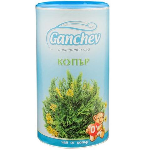 Ganchev Инстантен чай Копър за деца x200 грама