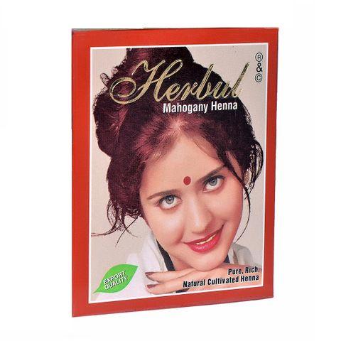Herbul Индийска къна за коса, цвят Махагон х1 брой