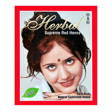 Herbul Индийска къна за коса, цвят Супер червен х1 брой