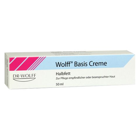 Dr. Wolff  Basis Крем за суха кожа х50 грама