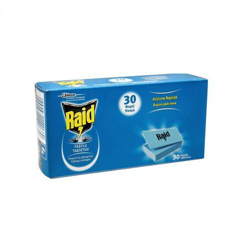 Raid Pastile Таблетки срещу комари за електрически изпарител x30 броя