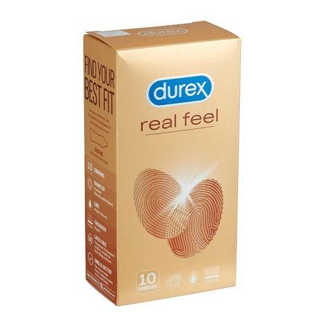 Durex Real Feel Презервативи х10 броя