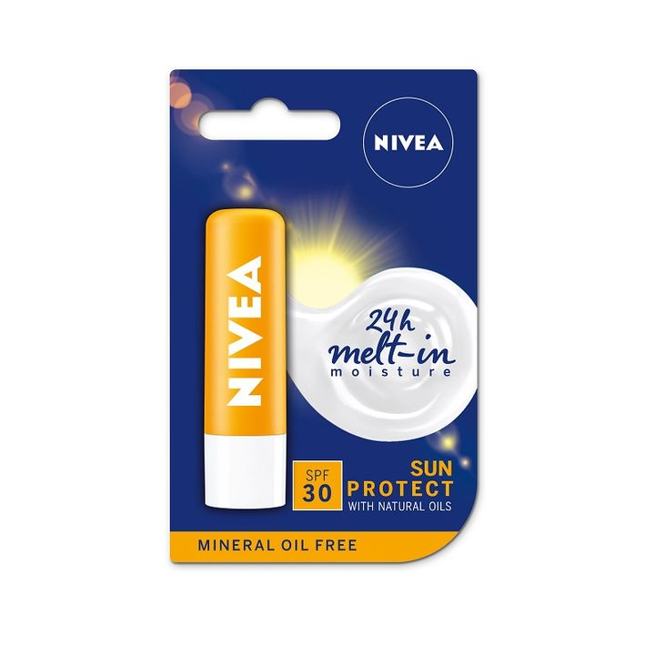 Nivea Sun Protect Балсам за устни