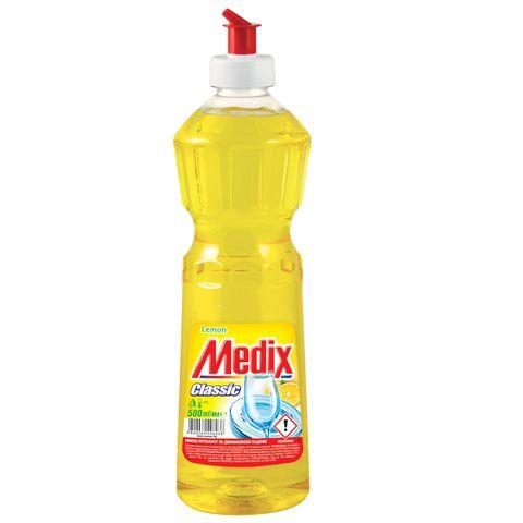 Medix Classic Balsam Lemon Препарат за съдове с аромат на лимон х500 мл