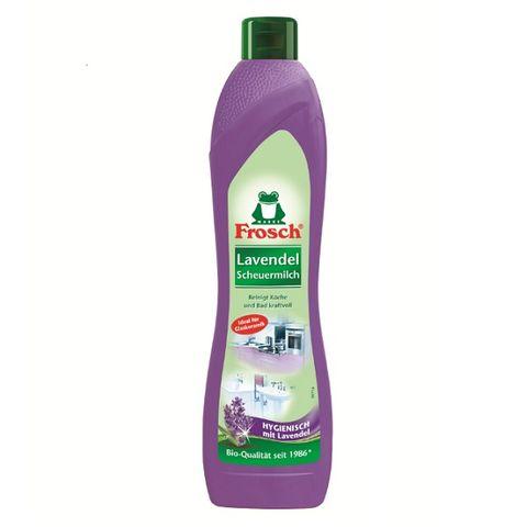 Frosch Lavender Почистващ крем за гладки повърхности с аромат на лавандула x500 мл