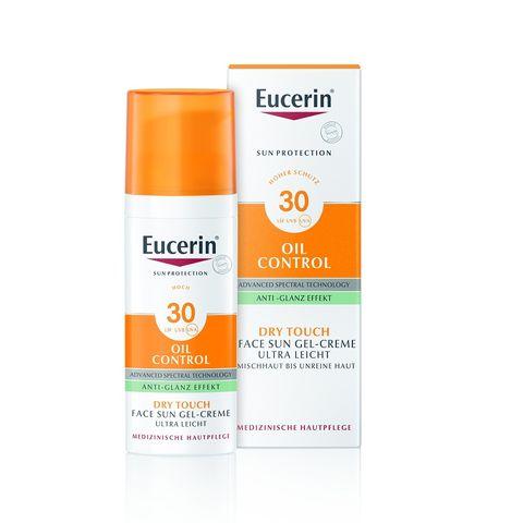 Eucerin Sun Слънцезащитен крем-гел за лице за мазна кожа SPF30 x50мл