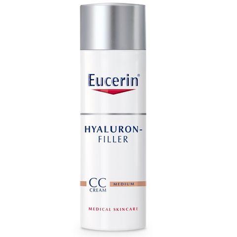 Eucerin Hyaluron Filler СС Крем за лице против стареене, тъмен нюанс x50 мл