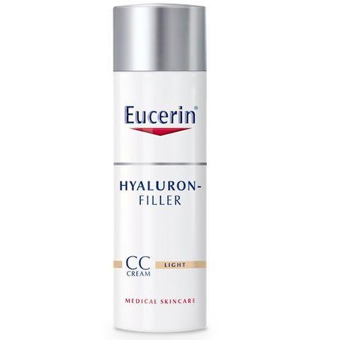 Eucerin Hyaluron Filler СС Крем за лице против стареене, светъл нюанс x50 мл
