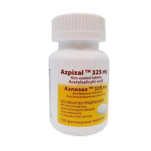 Азпизал 325 мг х100 таблетки