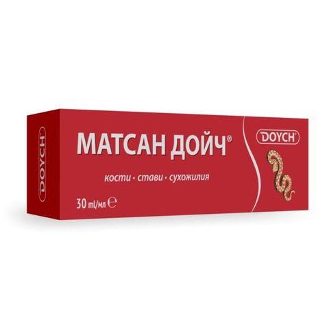 Doych Матсан Дойч Крем за тяло при болка в кости, стави и сухожилия х30 мл