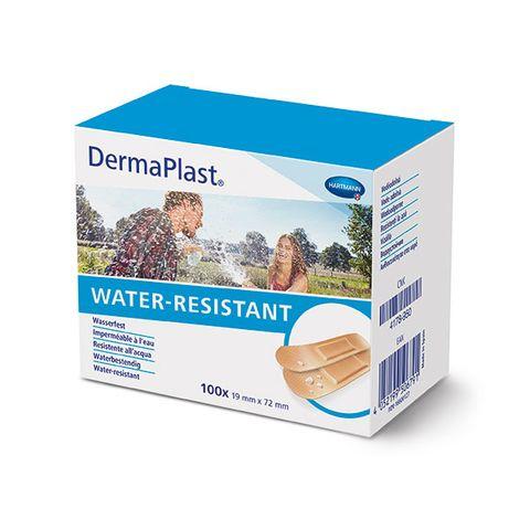 Hartmann DermaPlast Universal Water Resistant Водоустойчив пластир за малки рани 19x72мм x100 броя