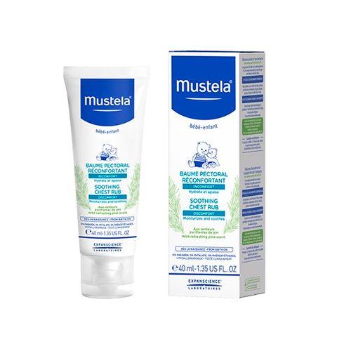Mustela Пекторален балсам за бебета и деца с освежаващ аромат на бор x40 мл