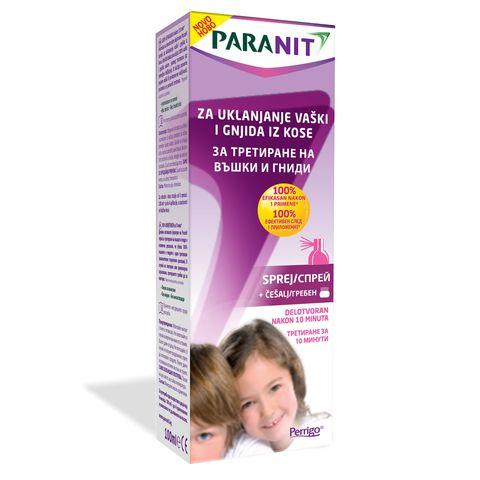 Paranit Спрей против въшки x100 мл